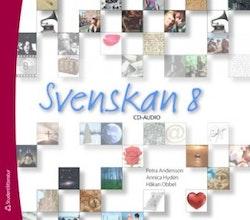 Svenskan 8 Audio-cd