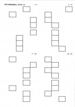 Rättningsmallar OS64