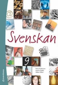 Svenskan 9 : elevbok med webbdel