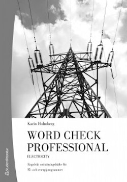Word Check Professional Electricity 10-p (Bok + digital produkt)