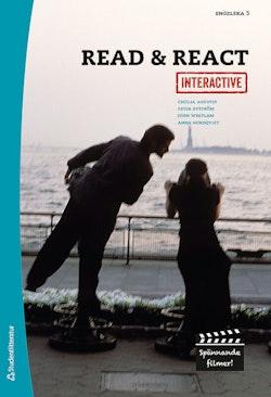 Read & React Interactive Elevpaket - Digitalt + Tryckt - Engelska 5