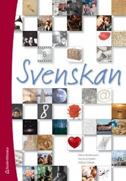 Svenskan 8 - Digitalt elevpaket (Digital produkt)