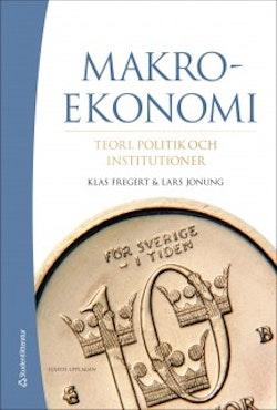 Makroekonomi - Teori, politik och institutioner (bok + digital produkt)