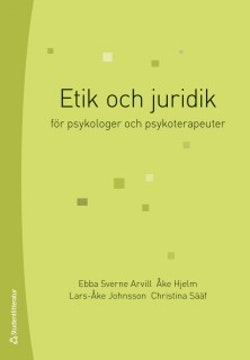 Etik och juridik : för psykologer och psykoterapeuter