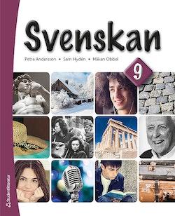 Svenskan 9 - Elevpaket (Bok + digital produkt)