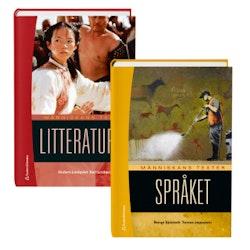 Människans texter - paket med Språket och Litteraturen