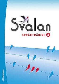 Svalan språkträning 3 Elevpaket (Bok + dig. prod)