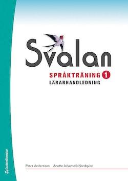 Svalan Språkträning 1 Lärarhandledning