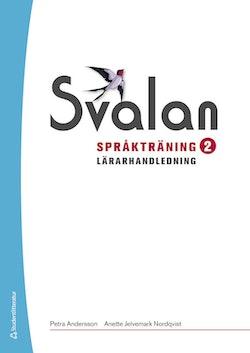 Svalan Språkträning 2 Lärarhandledning