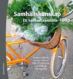 Samhällskunskap 1 100 p Elevbok (Bok + digital produkt) - Ett hållbart samhälle