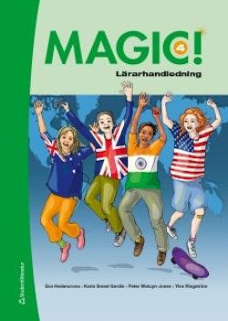 Magic! 4  Lärarhandledning (Bok+ digital produkt)