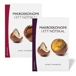 Nationalekonomi i ett nötskal - paket - Mikroekonomi i ett nötskal & Makroekonomi i ett nötskal