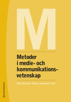 Metoder i medie- och kommunikationsvetenskap