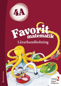Favorit matematik 4A Lärarpaket - Digitalt + Tryckt