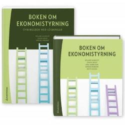 Boken om ekonomistyrning - paket - Faktabok och övningsbok