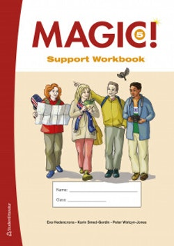 Magic! 5  Support Workbook - Tryckt