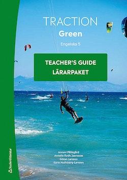 Traction Green Engelska 5 Lärarpaket - Digitalt + Tryckt
