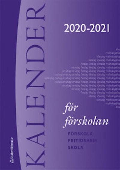 Kalender för förskolan 2020/2021