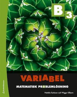 Variabel B3 - Digitalt + Tryckt - Matematisk problemlösning