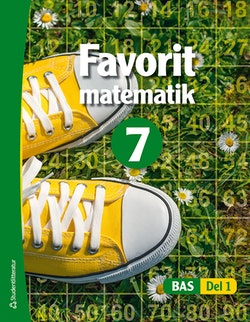 Bas Favorit matematik 7 Elevpaket - Digitalt + Tryckt