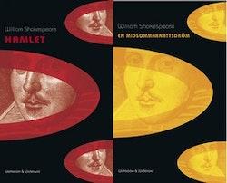 Midsommarnattsdröm & Hamlet (2 plastade volymer)