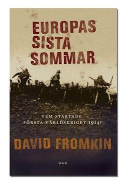 Europas sista sommar : Vem startade första världskriget?