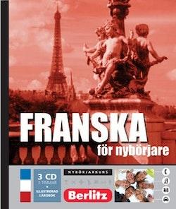 Franska för nybörjare, språkkurs : Språkkurs med 3 CD