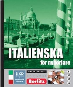 Italienska för nybörjare, språkkurs : Språkkurs med 3 CD
