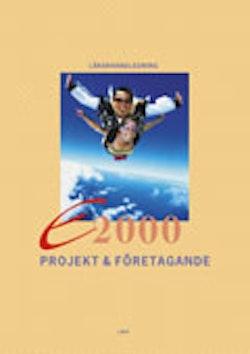 E2000 Projekt o föret Lärhl+cd