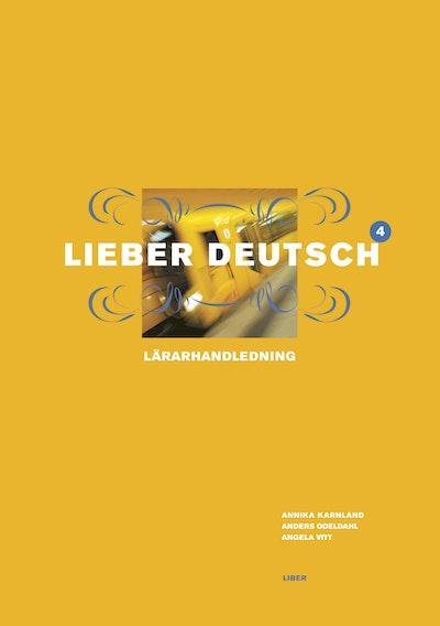 Lieber Deutsch 4 Lärarhandledning
