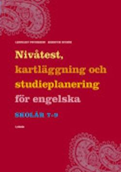 Nivåtest, kartläggning och studieplanering för engelska åk 7-9