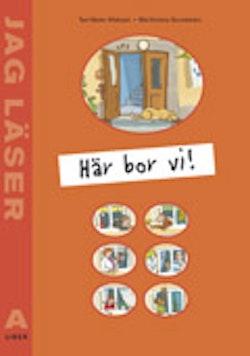 Jag läser A Här bor vi Nivå 1 3-pack
