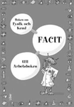 Boken om fysik och kemi Facit 5-pack