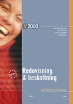 R2000 Redovisning och beskattning Kommentarer och Lösningar