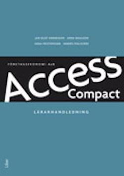 Access Compact Lärarhandledning m cd