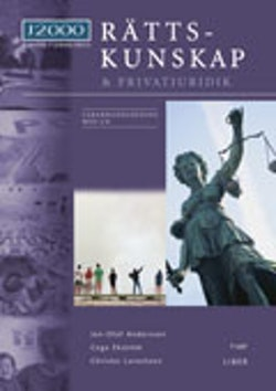J2000 Rättskunskap & privatjuridik Lärarhandledning med cd