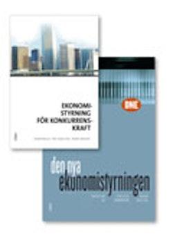 Styrning x 2 - Bokpaket med två böcker inom ekonomistyrningsområdet.
