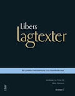 Libers lagtexter för juridiska introduktions- och översiktskurser