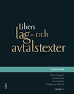 Libers lag- och avtalstexter i skolans juridik