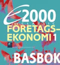 E2000 Classic Företagsekonomi 1 Basbok