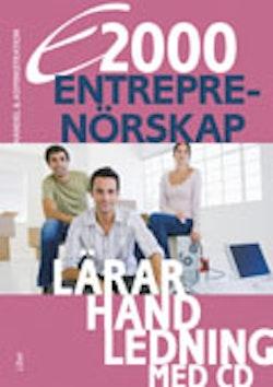 E2000 Entreprenörskap Lärarhandledning med CD
