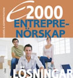 E2000 Entreprenörskap Lösningar Handel & administration