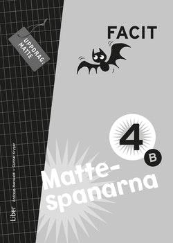 Mattespanarna 4B Facit