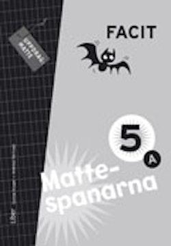Mattespanarna 5A Facit