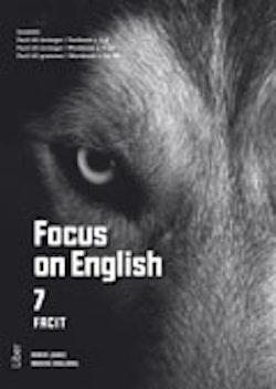 Focus on English 7 facit