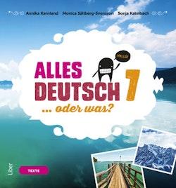 Alles Deutsch 7 Textbok - Tyska för grundskolan