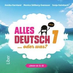 Alles Deutsch 7 Lärar-cd 1-2 - Tyska för grundskolan