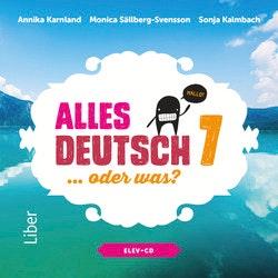 Alles Deutsch 7 Elev-cd - Tyska för grundskolan