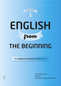 English from the Beginning 1 - Grundläggande engelska för årskurs 7-9