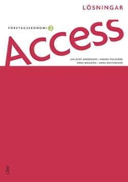Access Företagsekonomi 2, Lösningar